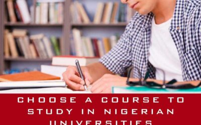 How To Choose A Course To Study In Nigerian Universities